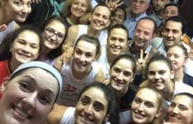 Edirneli kadın basketbolcuların başarısı