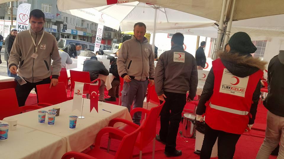Keşan'da kan bağışı rekoru