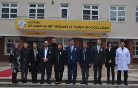 DR. SADIK AHMET  EDİRNE'DE ANILDI