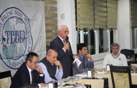 Eşkinat Tekirdağ Tarih Bilincinde Buluşanlar Derneği istişare toplantısına katıldı