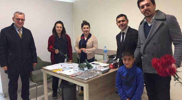 """Helvacıoğlu: """"Sizlerle sağlıklıyız"""""""